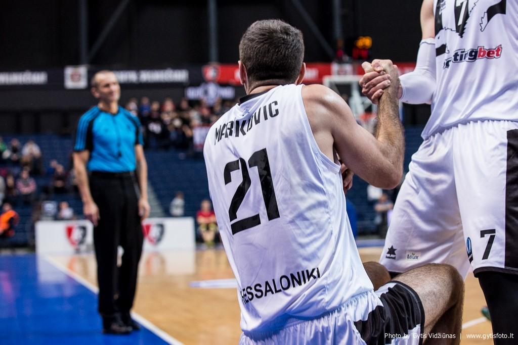 Vilniaus Lietuvos rytas - Salonikų PAOK